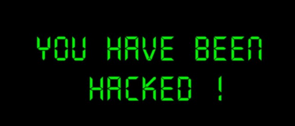 warning you've been hacked