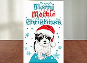 Free Christmas cards - Morkies