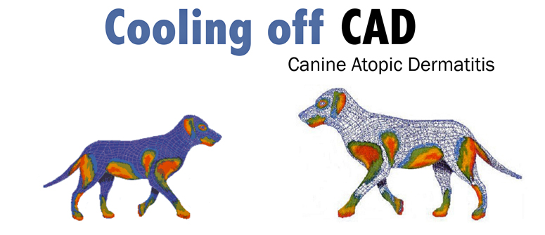 Cooling off CAD or canine Atopic dermatitis