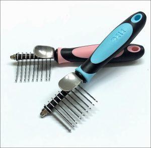 de-matting comb for Morkies