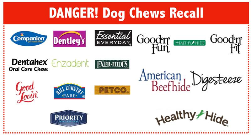 dog treat recalls