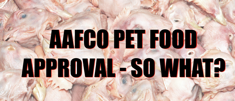 AAFCO dog food approval