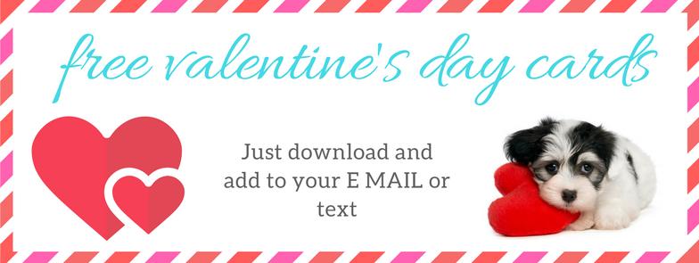 Morkie Valentine's Day Cards – FREE