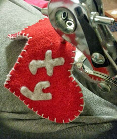 Fabric Ty Tag for your Dog