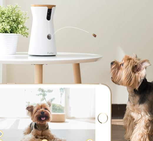 Furbo Dog Camera See and interact with your dog even when you are not home 4