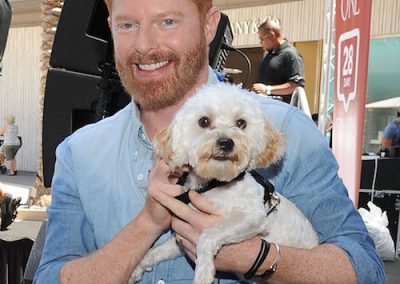 Jesse Tyler Ferguson and his morkie