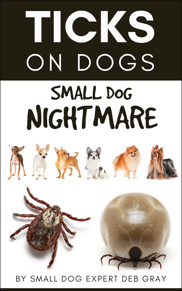 Book about ticks on dogs, dog ticks on small dogs