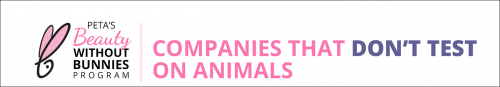 Companies that dont test on animals; click for the list from PETA