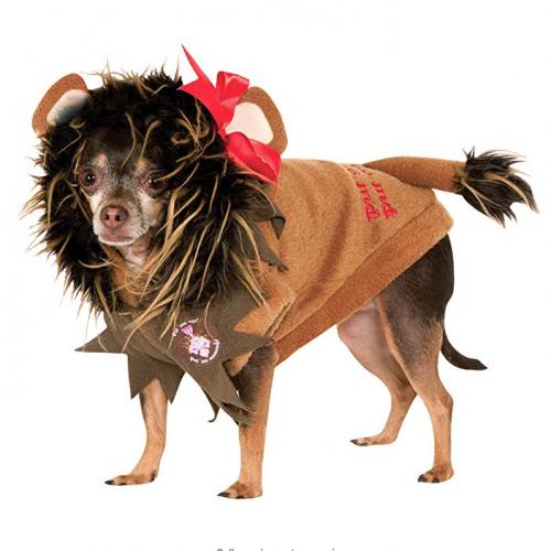 cowardly lion costume for dog
