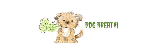 Dog bad breath: curse of small dogs?