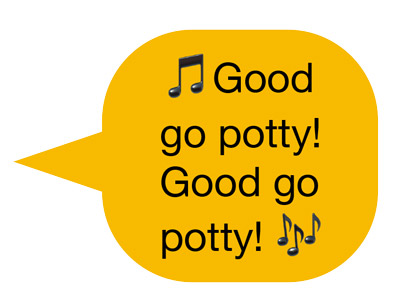 good go potty. good