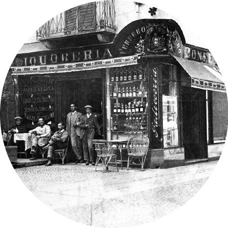 history photo of where nutella was invented