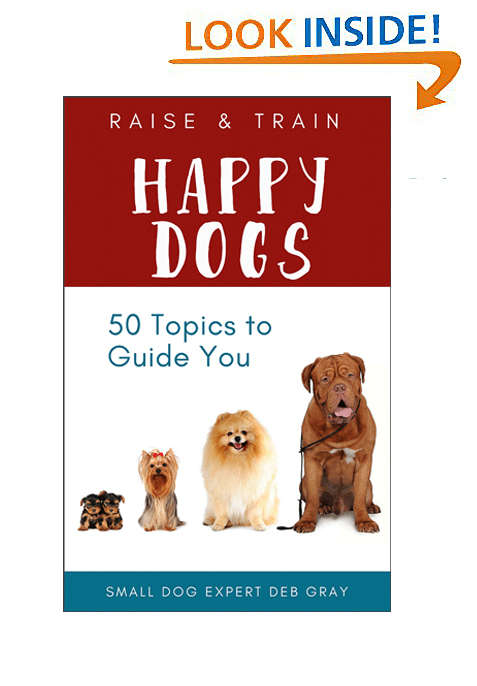 ebook featuring dog lists with important dog tips and dog info