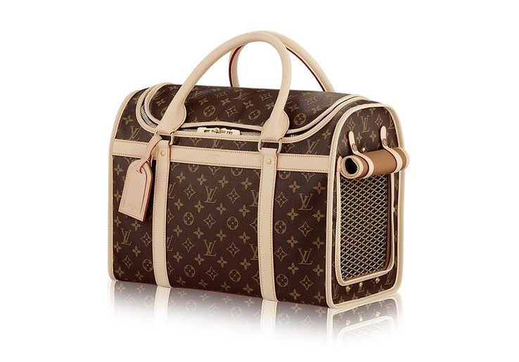 Louis Vuitton Dog Carrier at $58,000!