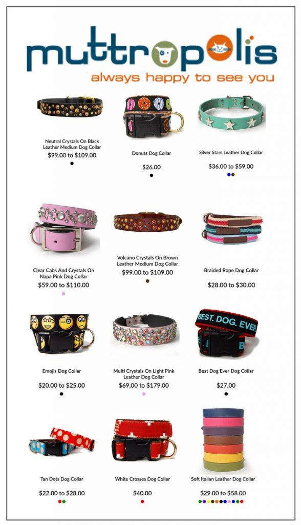 muttropolis designer accessories for dogs