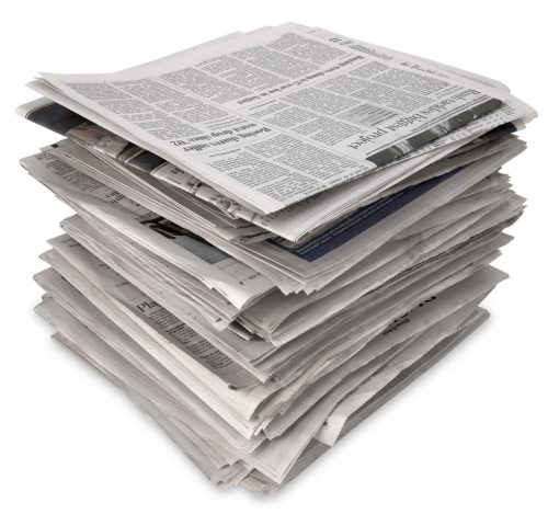newspapers for potty training