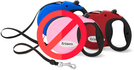 say no to retractable leashes