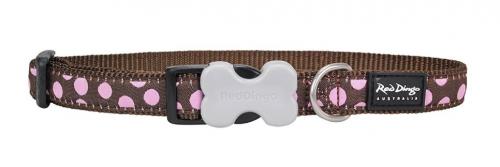 Red dingo designer dog collar