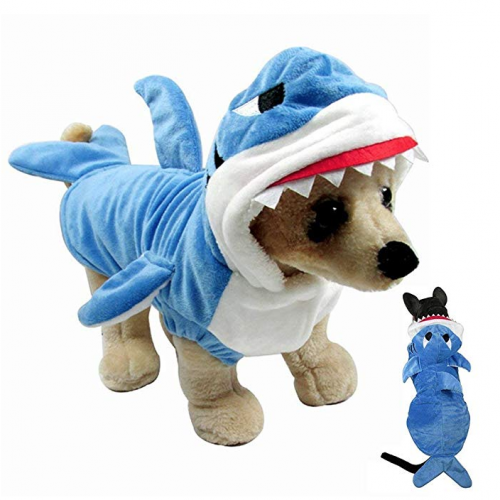 shark costume for small dog