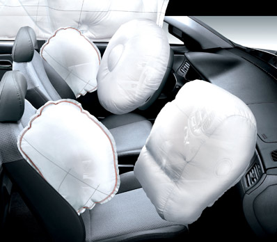 airbags deploy with tremendous force